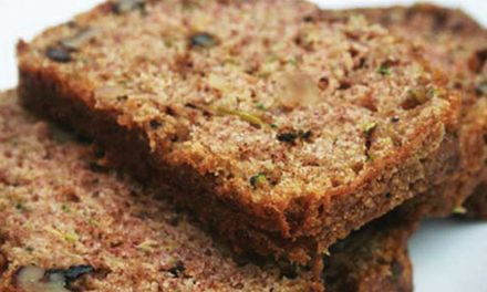Healthful Zucchini-Walnut Bread