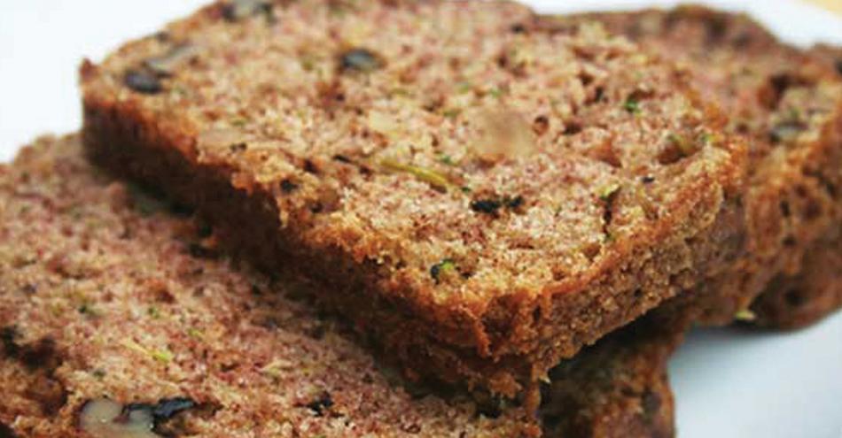 Healthful Zucchini-Walnut Bread