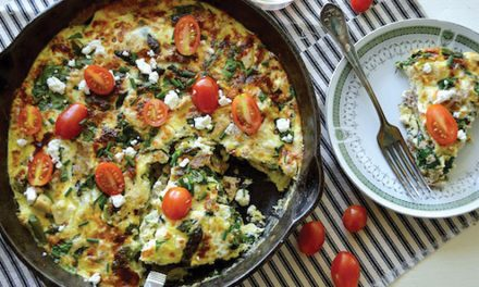 Recipes: Egg-White Veggie Frittata