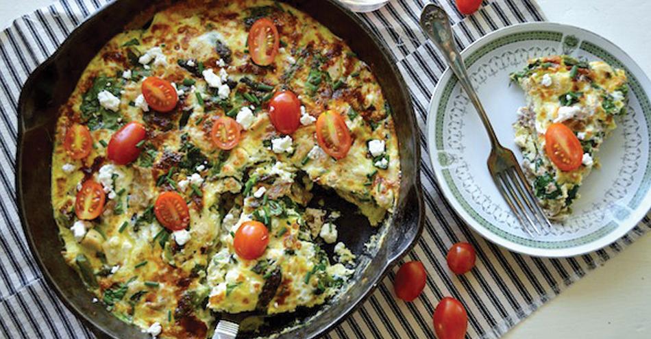 Recipes: Egg-White Veggie Frittata
