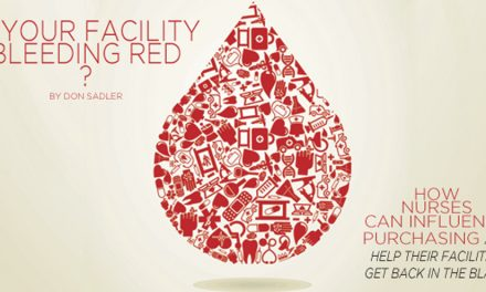 Is your facility bleeding red?