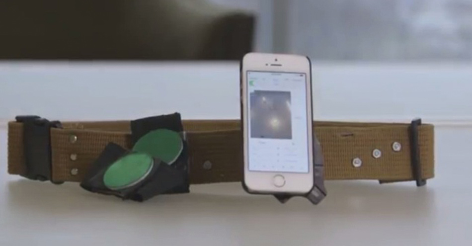 Smartphone Adapted to Measure Person's Gait, Reduce Falls