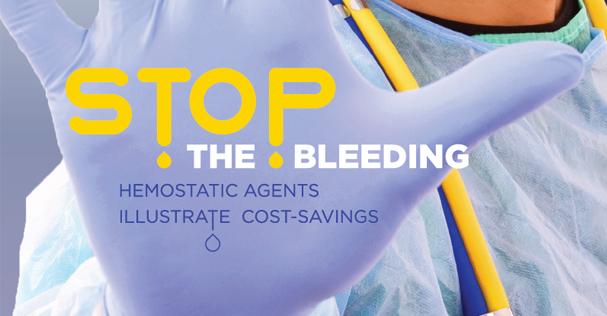 Hemostatic Agents Illustrate Cost-Savings