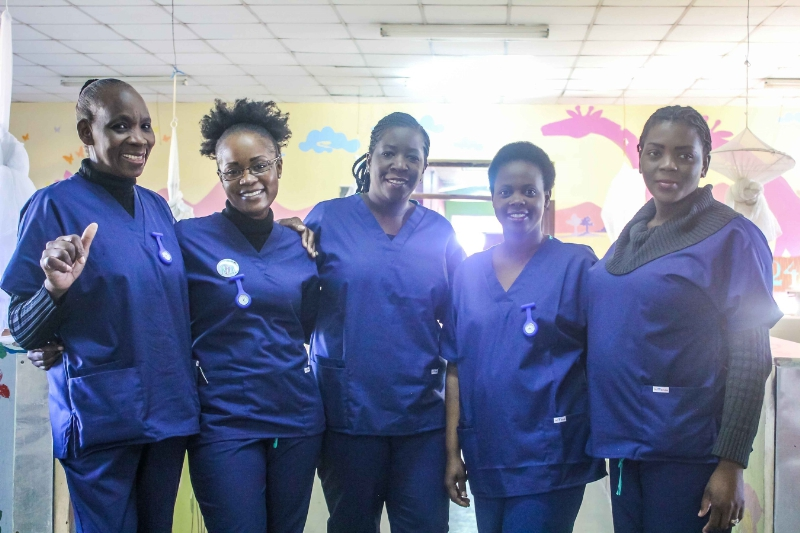 Prime Medical Gives Back with Scrubs Donation to CURE Zambia