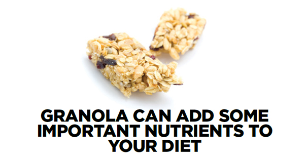 Granola Can Add Some Important Nutrients to Your Diet