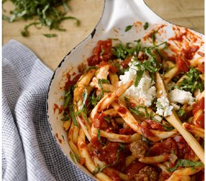 Recipe: Macaroni with Sausage & Ricotta
