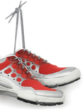 Fitness: Avoid Footwear Fumbles When Exercising or Playing Sports