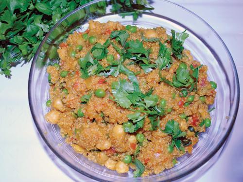 Chickpea Quinoa Pilaf