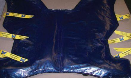 David Scott Company Butterfly Steep Trendelenburg Bean Bag Positioner