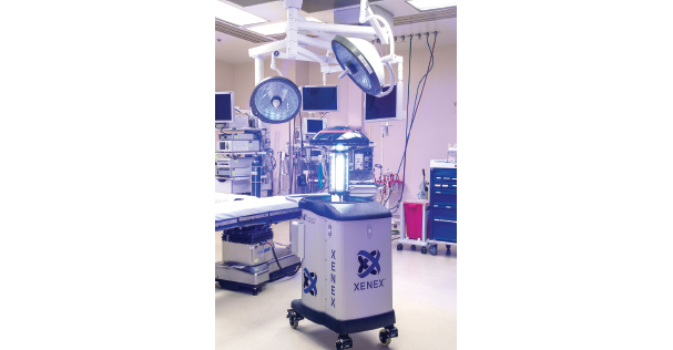Germ-Zapping Robots Improve Patient Safety at University Hospital
