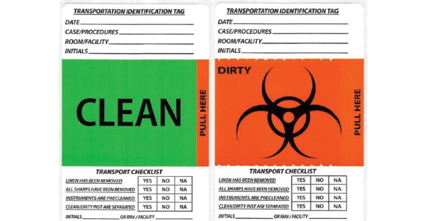 Healthmark Industries – Transportation Identification Label