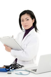 nurse-standing