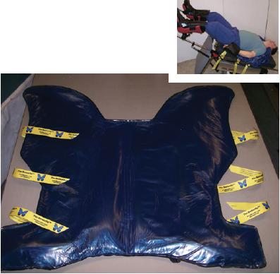 Butterfly Steep Trendelenburg Bean Bag Positioner