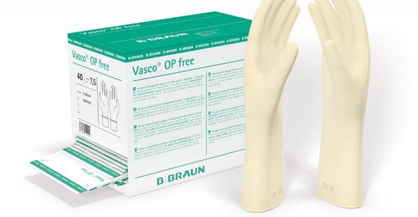 B. Braun's Vasco OP Free Surgical Gloves