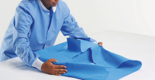 Kimguard Smart-Fold Sterilization Wrap