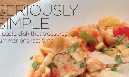 Recipe: Indian Summer Pasta