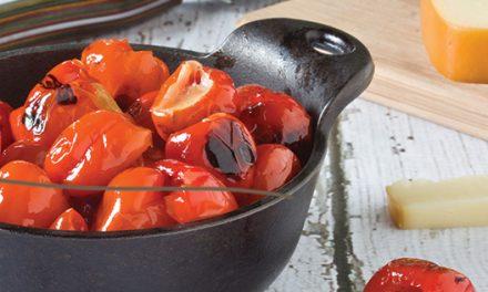 Recipe: Grilled Peppadews with Smoked Mozzarella