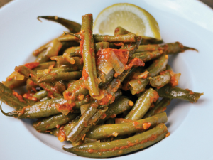 Green Beans Greek-Style