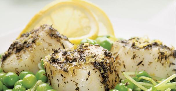 Recipe: Scallops and Sweet Peas