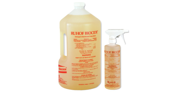 Ruhof Biocide® Detergent Disinfectant Pump Spray