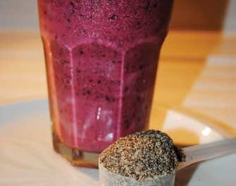 Chia-Berry Smoothie