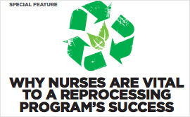 Why Nurses are Vital to a Reprocessing Program's Success