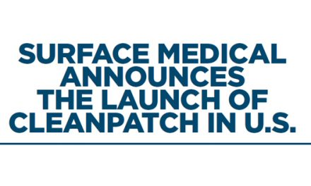 Surface Medical Announces the Launch of Cleanpatch in U.S.