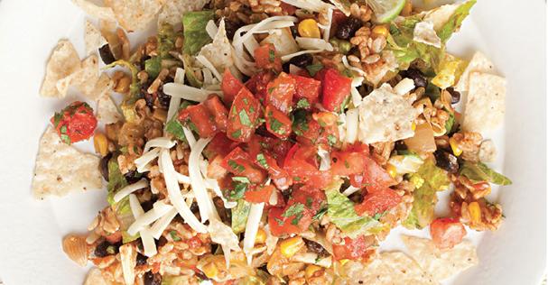 Recipe: Vegetarian Taco Salad