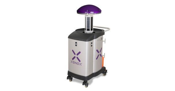 Xenex Germ Zapping Robot Or Today