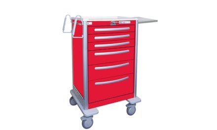 Medline: Lightweight Aluminum Medical Carts