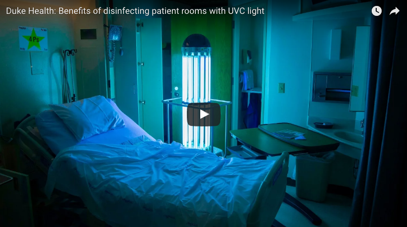 Tru-D SmartUVC validated by randomized clinical trial on UV disinfection