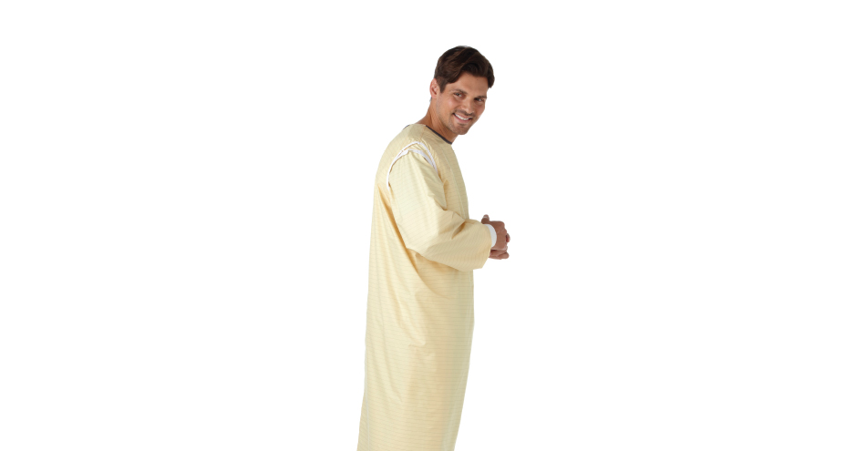 Encompass Group: SafeCare Three-Arm-Hole Isolation Gowns