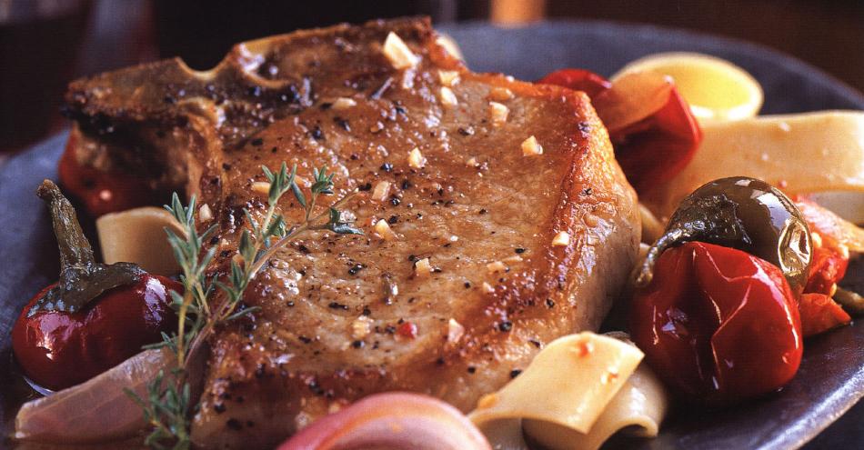 Pan Roasted Pork Chops – A Weeknight Treat