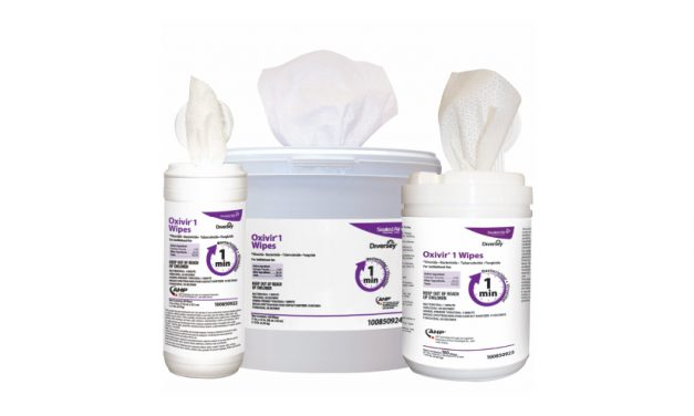 DIVERSEY CARE: Oxivir 1 Disinfectant Cleaner Wipes