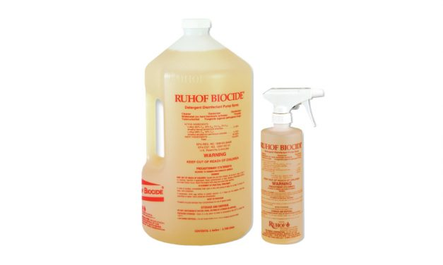 Ruhof: Biocide Detergent Disinfectant Pump Spray