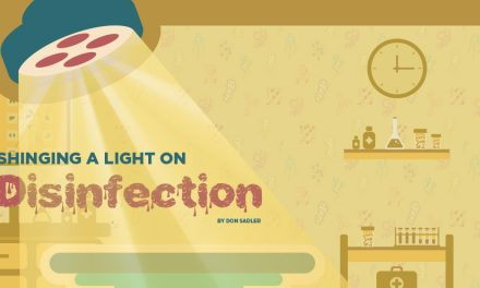 Shining a Light on Disinfection