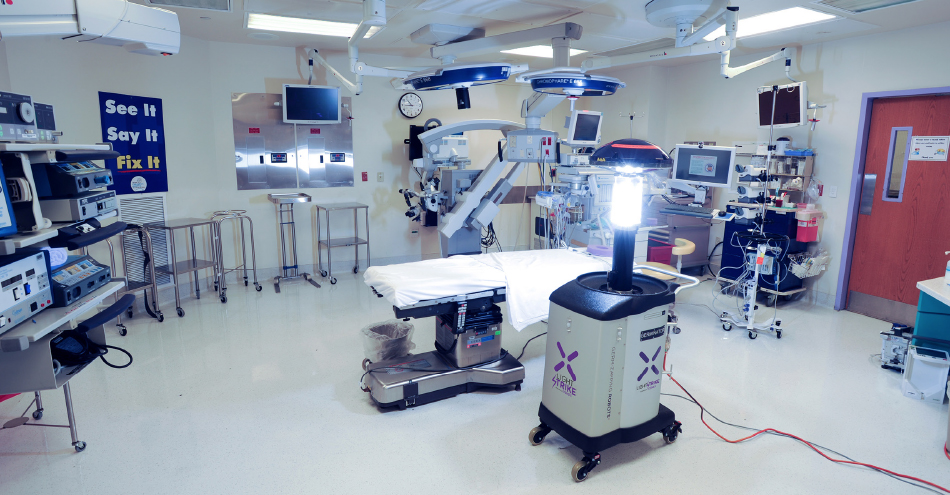 Mercy Medical Center Adds Germ-Zapping Robots