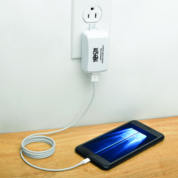 New USB Charger Safe for Patient-Care Vicinities