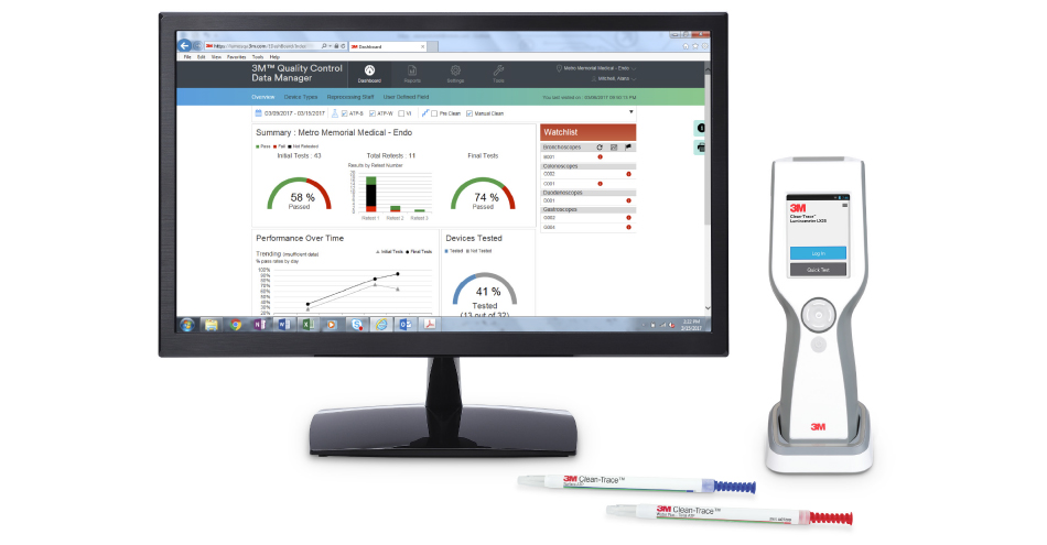 3M Clean-Trace ATP Monitoring System