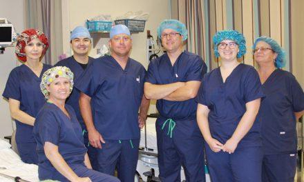 Prime Medical Outfits Florida Surgical Team in Chlorine-shielded SAF-T Scrubs