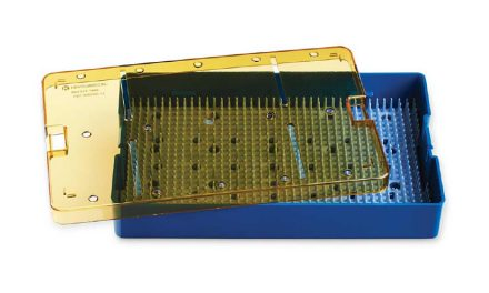 Key Surgical Plastic Sterilization Trays