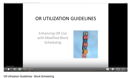 Webinar Includes Block Scheduling Tips