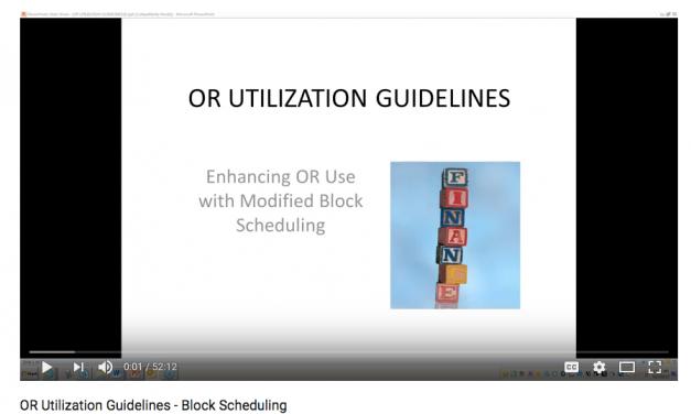 Webinar Includes Block Scheduling Tips