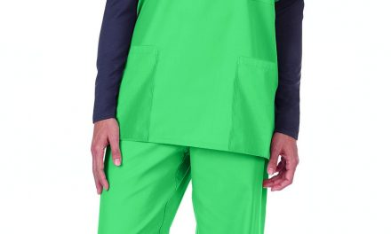 Encompass Group LLC Introduces Synergy Professional Apparel Long-Sleeve Scrub Top with Modesty Neck Panel
