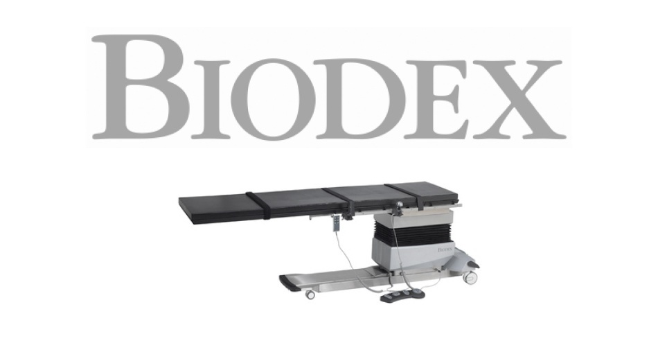 Biodex Highlights Surgical C-Arm Tables