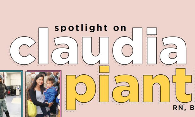 Spotlight on Claudia Pianti, RN, BSN