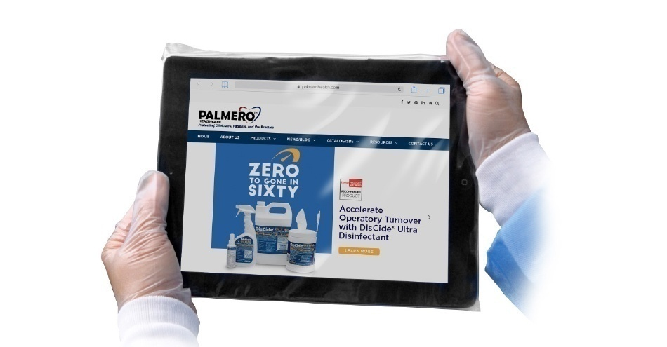Tablet Barrier Sleeve Provides Infection Protection