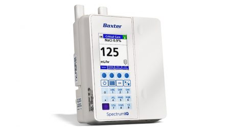 Baxter Announces U.S. FDA Clearance of New Spectrum IQ Infusion System