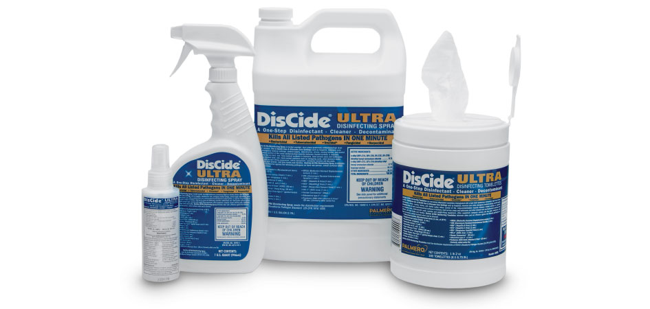 Palmero Healthcare DisCide Ultra Surface Disinfectant