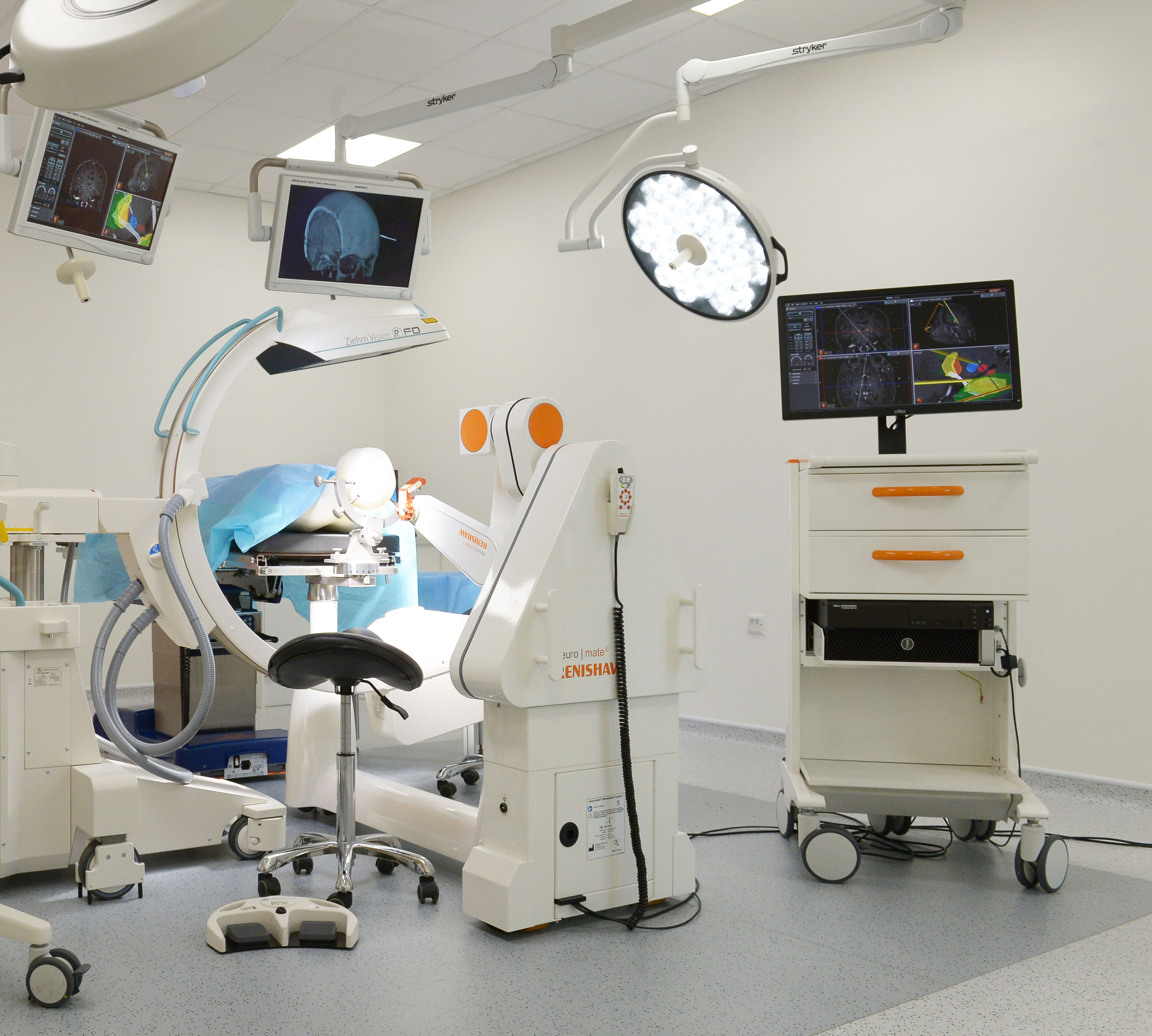 Renishaw's integrated neurosurgery solution cleared for sale in U.S.